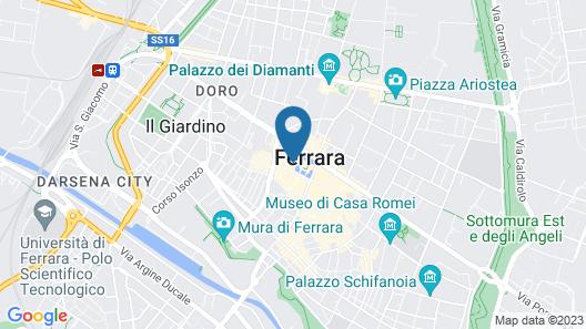 Mercure Ferrara Map