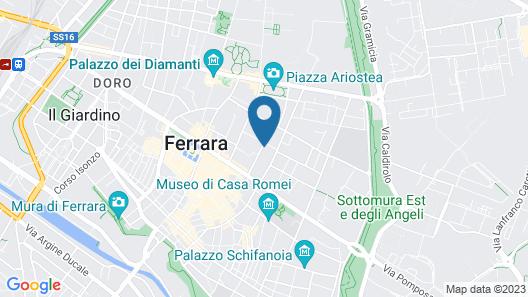 Duplex Apartment In Pieno Centro Map