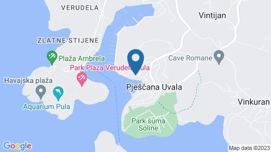 Hotel Valsabbion Map