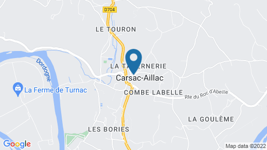 Domaine Lacoste Map
