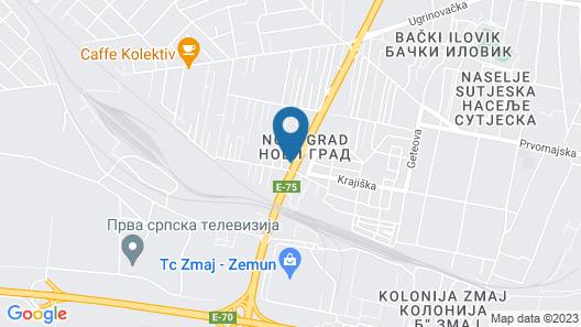 Garni Hotel Zeder Map