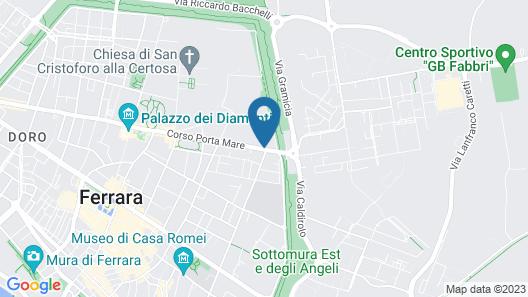 Piazza Nova Guest House Map