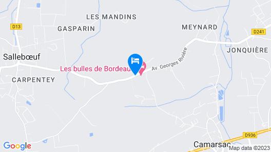 Les Bulles de Bordeaux Map