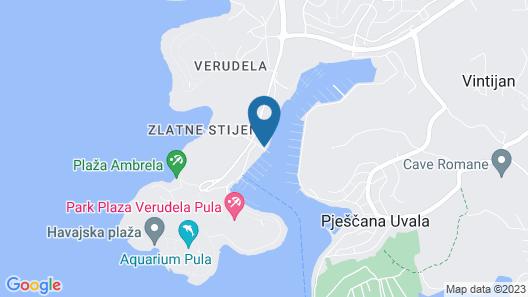 Ribarska Koliba Resort Map