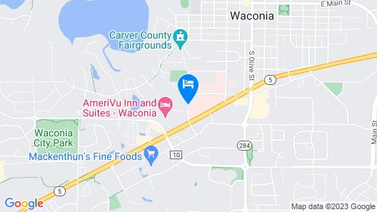 AmeriVu Inn & Suites - Waconia Map