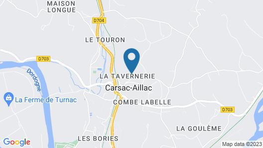 LOU Miya - Gîte Périgourdin Neuf à 5kms de Sarlat, Climatisé Map