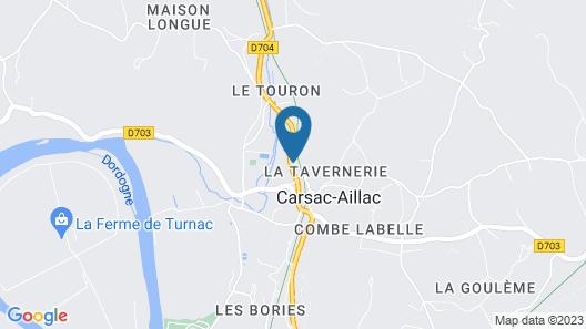 La Villa Romaine Map