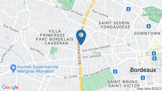 IKO Bordeaux Appartments Map