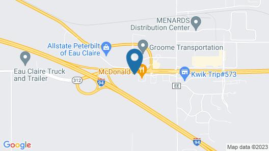 Days Inn by Wyndham West-Eau Claire Map