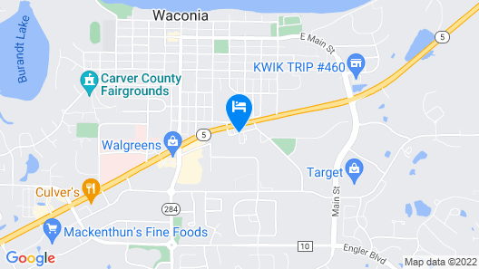 Waconia Inn & Suites Map