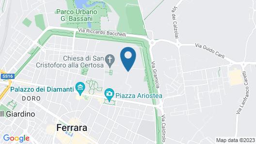 Villa Horti della Fasanara - Guest House Map