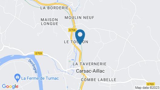 Le Relais du Touron Map