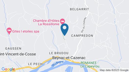 Chambre D'hôtes La Rossillonie Map