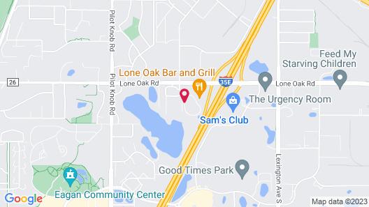 Sonesta ES Suites Minneapolis - St. Paul Airport Map