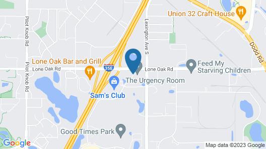 Microtel Inn & Suites by Wyndham Eagan/St Paul Map