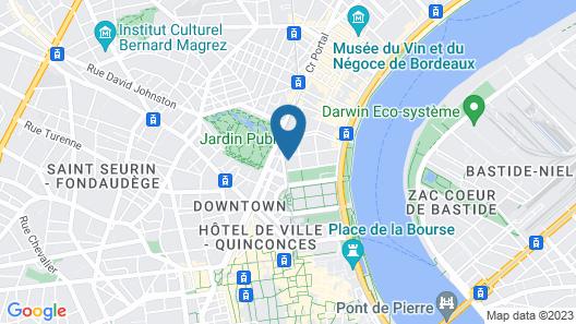 Hôtel des Quinconces Map