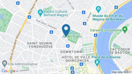 Le Clos d'Emile Map