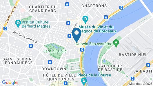 Hôtel Notre Dame Map