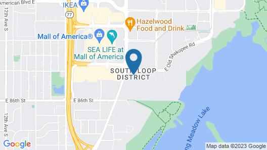 Tru by Hilton Minneapolis Mall of America Map