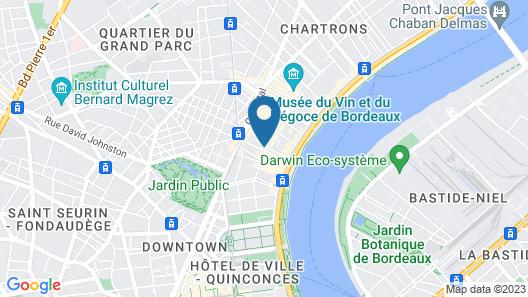 Une Chambre chez Dupont Map