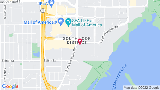 Home2 Suites by Hilton Minneapolis Mall of America Map