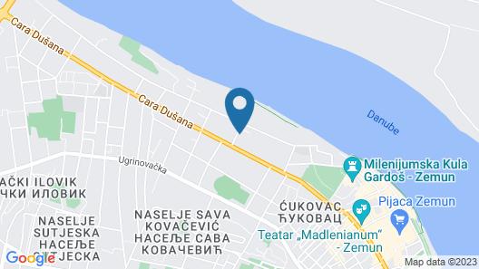 Garni Hotel D10 Map