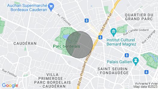 Bordeaux Splendid 19th Century Apartment Ideally Located - Bordeaux Park Map
