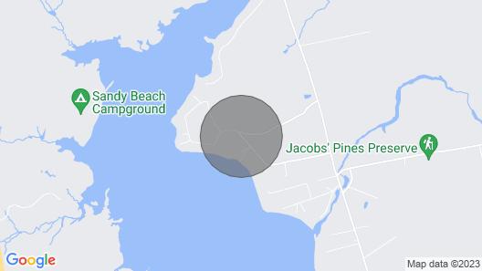 Cozy Lakefront Madison Cabin w/ Dock & Kayaks Map
