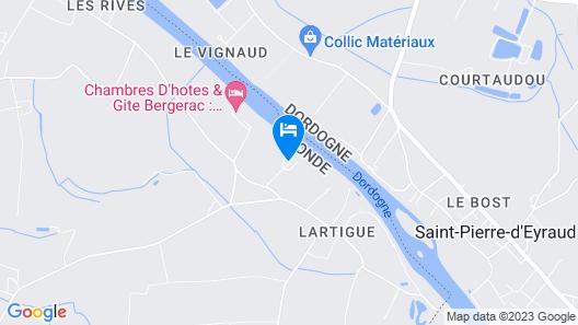 Domaine de Grande Font Map