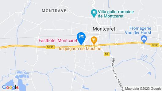 Fasthôtel (en Bergeracois) Map