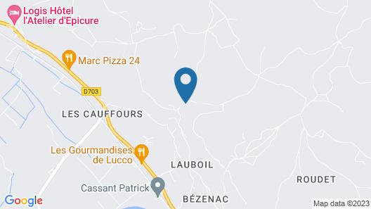 Le Hibou Heureux Map