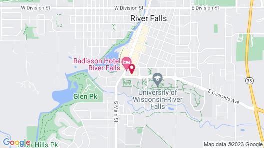 Best Western Plus Campus Inn Map