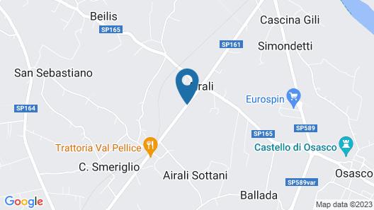 Hotel Villa Glicini Map