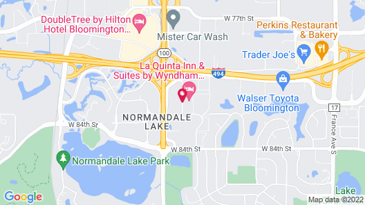 La Quinta Inn & Suites by Wyndham Minneapolis Bloomington W Map