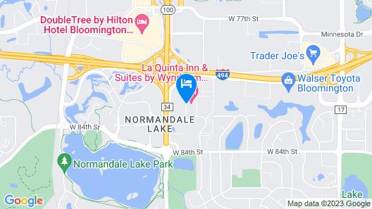 La Quinta Inn & Suites by Wyndham Minneapolis Bloomington W Map