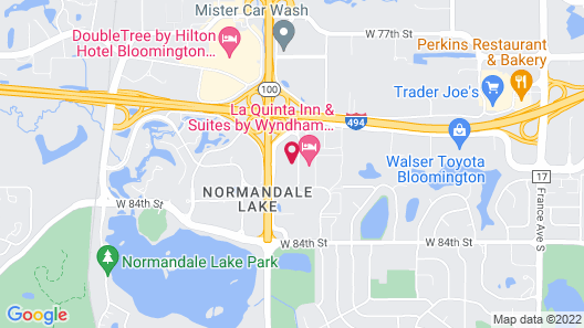Staybridge Suites Minneapolis-Bloomington, an IHG Hotel Map