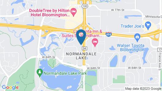 Renaissance Minneapolis Bloomington Hotel Map