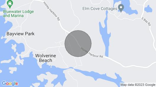 Muskoka 8 Acre Waterfrnt,2600 Sf,sleeps12,privacy Plus,5reviews,3 Bedrm+bunkie Map