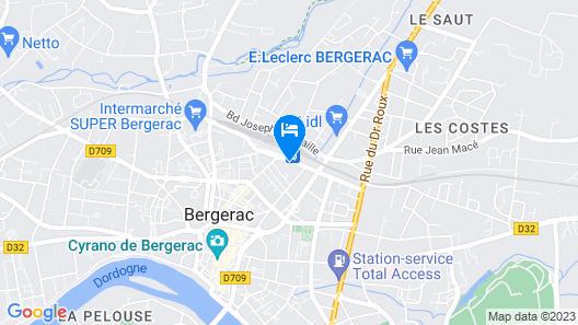 Hôtel Bar Restaurant L'Escale Map