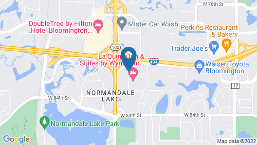 Holiday Inn : Bloomington W MSP Airport Area, an IHG Hotel Map