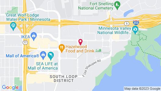 Cambria Hotel Minneapolis Airport - Bloomington Map