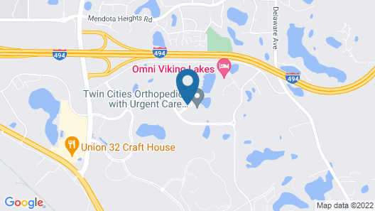 Omni Viking Lakes Hotel Map