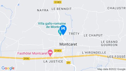 A L'Olivier Map