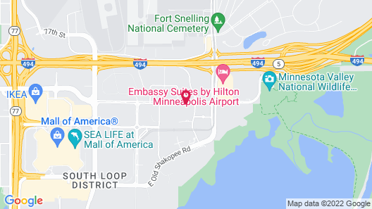 Hyatt Regency Bloomington - Minneapolis Map