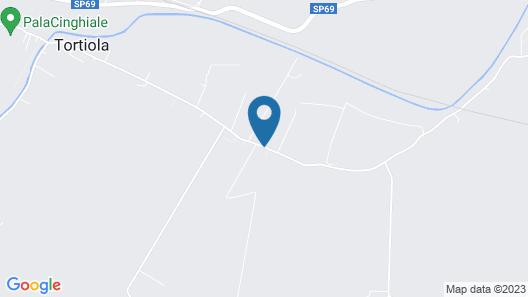 Hotel La Tortiola Map