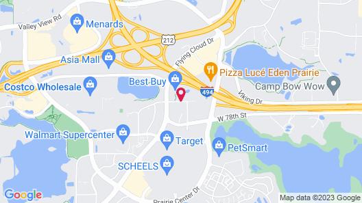 Towneplace Suites By Marriott Minneapolis Eden Prairie Map