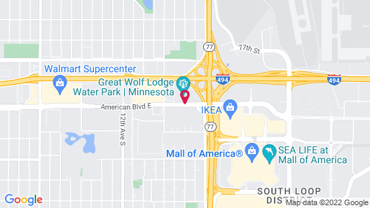Great Wolf Lodge Bloomington Map