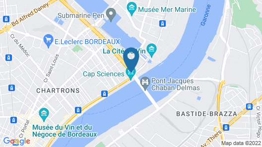 Residhome Bordeaux Map