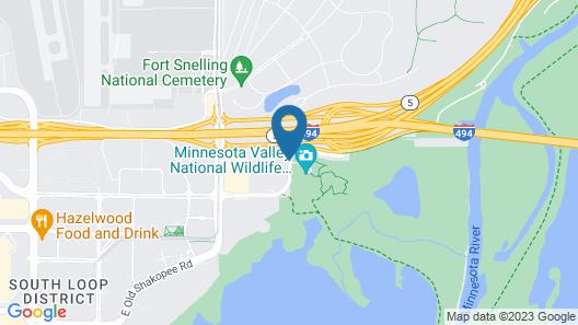 Hilton Minneapolis-St. Paul Airport Map