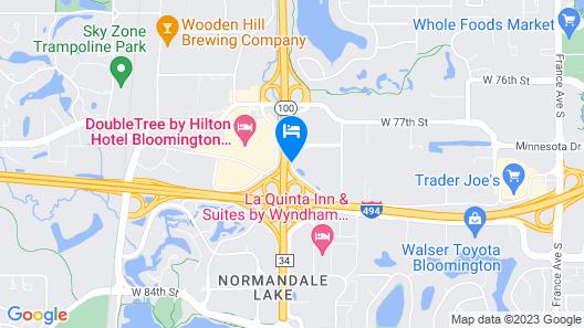 Days Inn by Wyndham Bloomington West Map